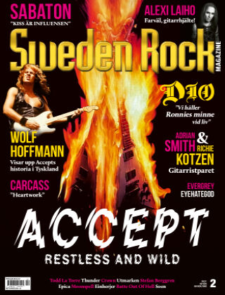 Sweden Rock Magazine 2021-02-23