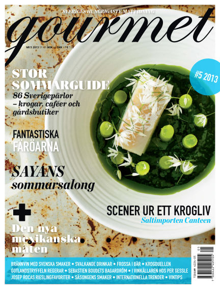Gourmet July 09, 2013 00:00