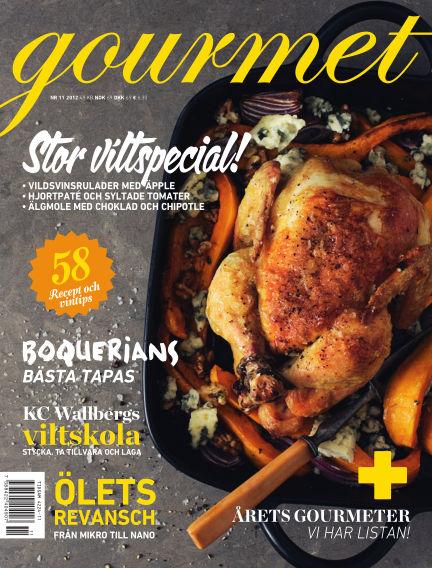 Gourmet October 18, 2012 00:00