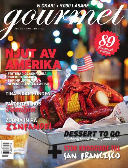 Gourmet February 16, 2012 00:00