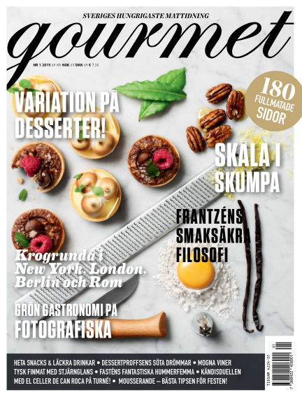 Gourmet December 02, 2014 00:00