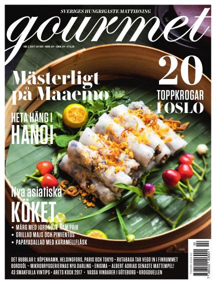 Gourmet March 07, 2017 00:00