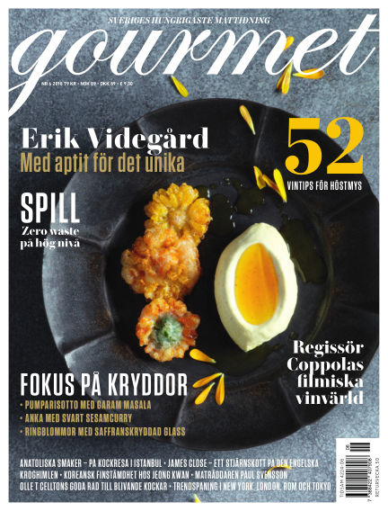 Gourmet November 08, 2018 00:00