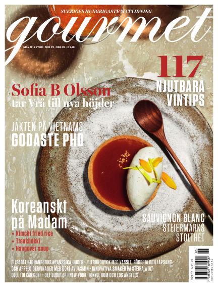 Gourmet October 31, 2019 00:00