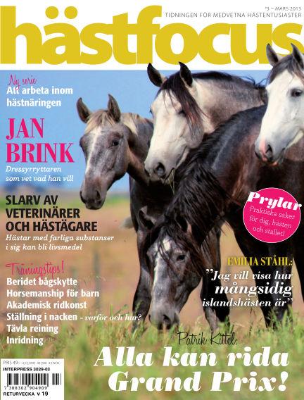 Hästfocus (Inga nya utgåvor) March 19, 2013 00:00