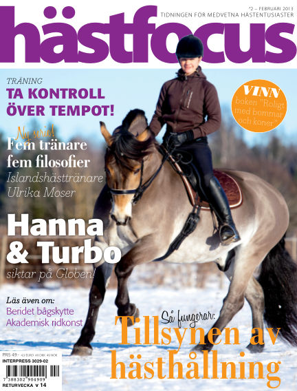 Hästfocus (Inga nya utgåvor) February 26, 2013 00:00