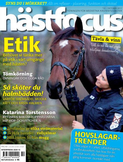 Hästfocus (Inga nya utgåvor) October 02, 2012 00:00