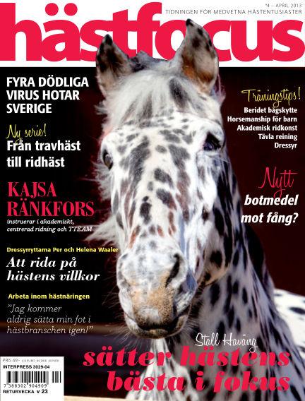 Hästfocus (Inga nya utgåvor) April 29, 2013 00:00