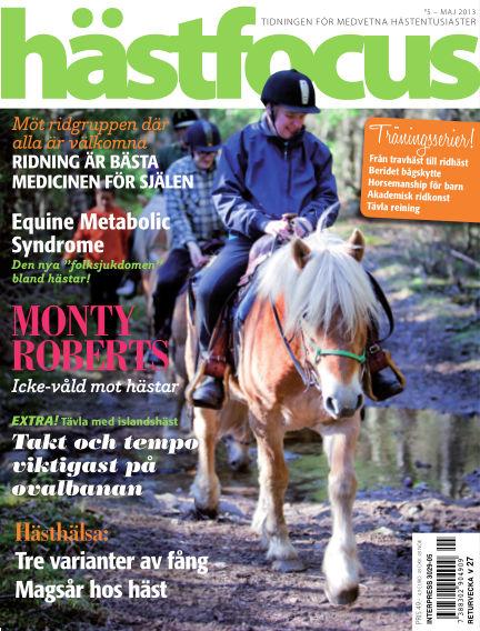 Hästfocus (Inga nya utgåvor) May 28, 2013 00:00