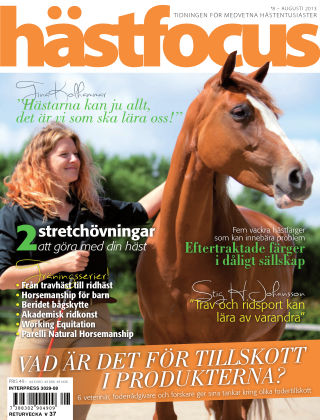 Hästfocus (Inga nya utgåvor) 2013-08-06