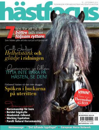 Hästfocus (Inga nya utgåvor) 2013-09-03