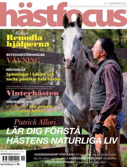 Hästfocus (Inga nya utgåvor) November 05, 2013 00:00