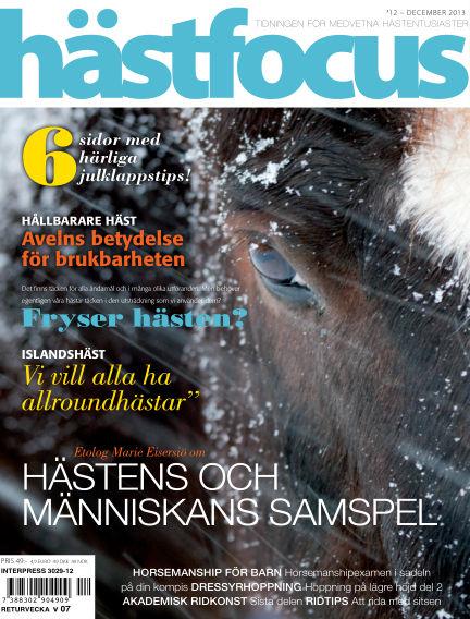 Hästfocus (Inga nya utgåvor) December 03, 2013 00:00
