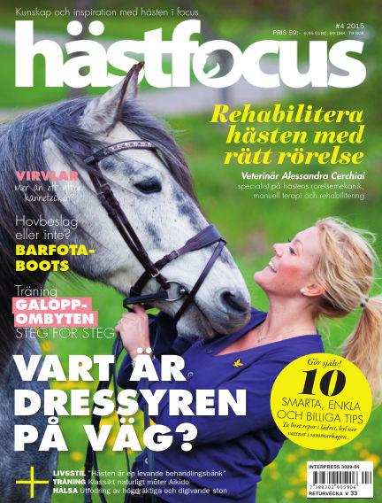 Hästfocus (Inga nya utgåvor) June 02, 2015 00:00