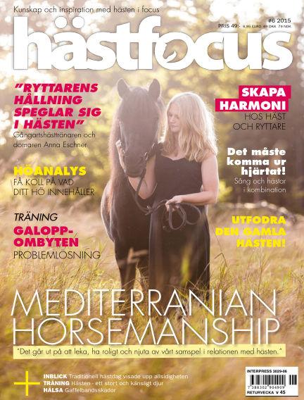 Hästfocus (Inga nya utgåvor) September 15, 2015 00:00