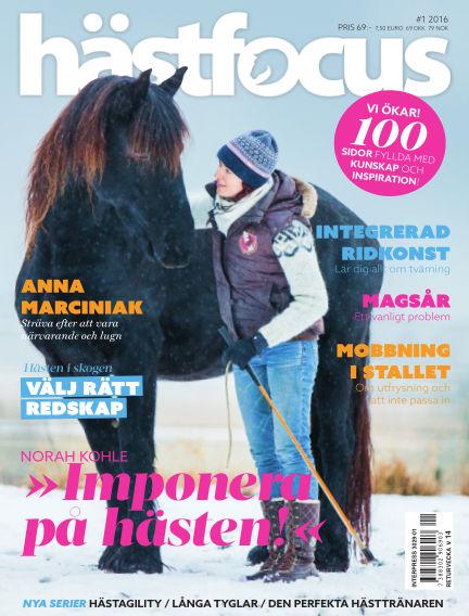 Hästfocus (Inga nya utgåvor) February 09, 2016 00:00