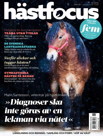 Hästfocus (Inga nya utgåvor) November 22, 2016 00:00