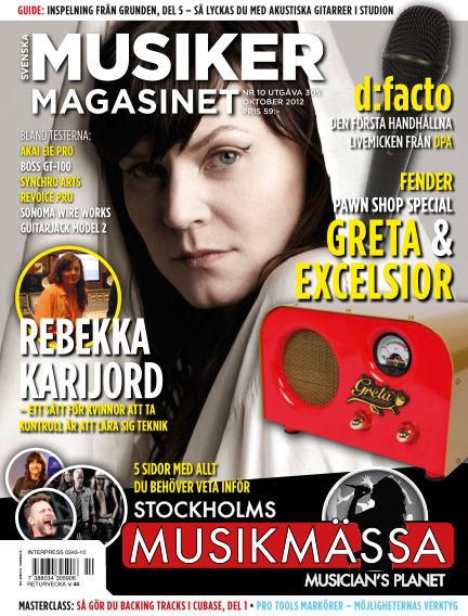 Musikermagasinet October 05, 2012 00:00