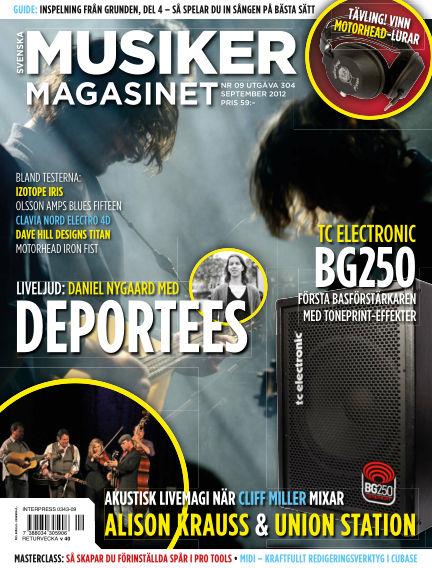 Musikermagasinet September 04, 2012 00:00