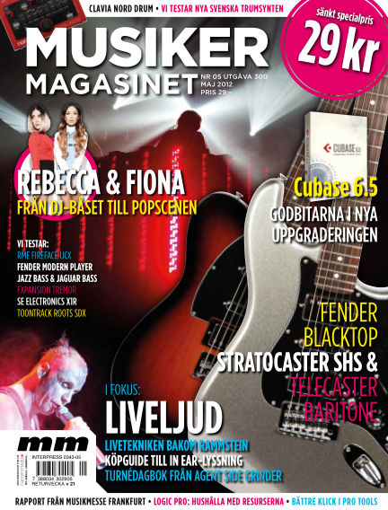 Musikermagasinet March 23, 2012 00:00