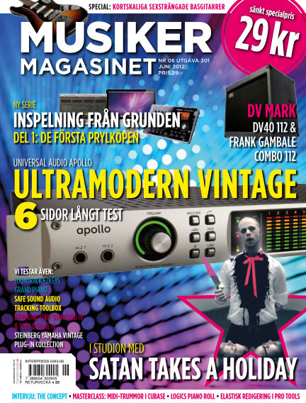 Musikermagasinet May 15, 2012 00:00