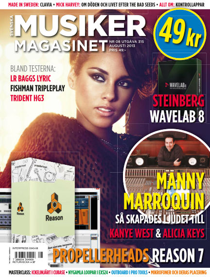 Musikermagasinet July 25, 2013 00:00