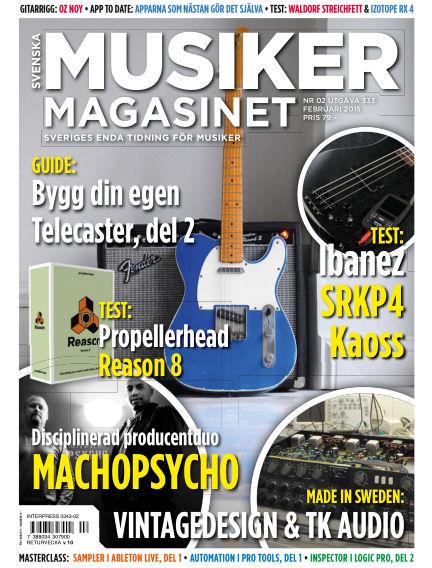 Musikermagasinet January 27, 2015 00:00