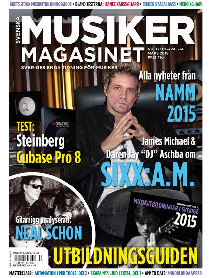 Musikermagasinet February 24, 2015 00:00