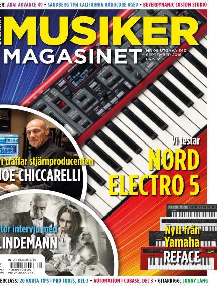 Musikermagasinet August 26, 2015 00:00