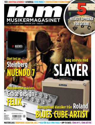Musikermagasinet 2015-12-22