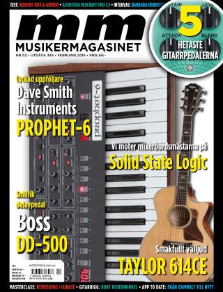 Musikermagasinet 2016-01-26
