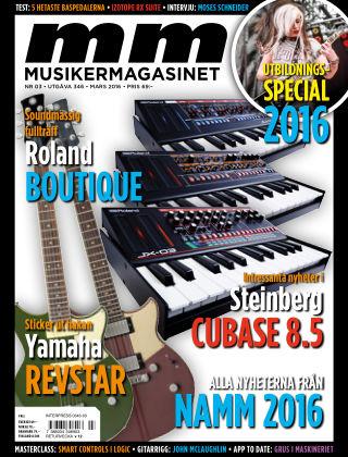 Musikermagasinet 2016-02-23