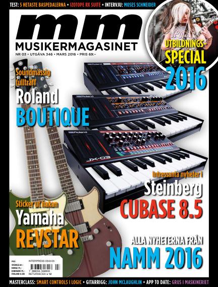 Musikermagasinet February 23, 2016 00:00