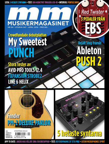 Musikermagasinet March 22, 2016 00:00
