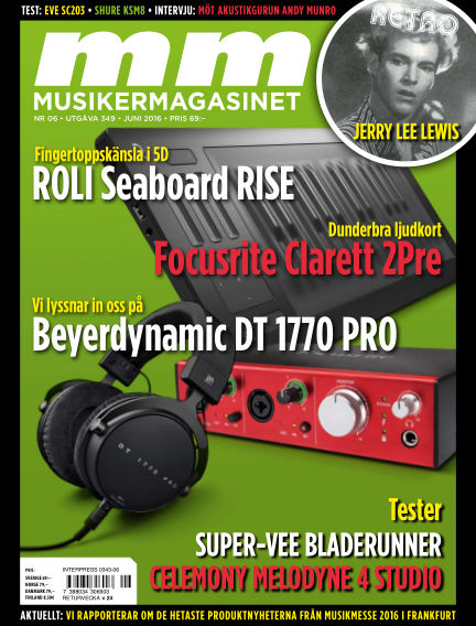 Musikermagasinet May 17, 2016 00:00