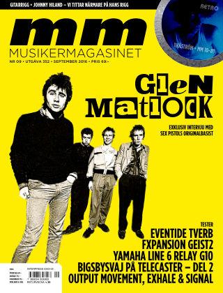 Musikermagasinet 2016-08-30