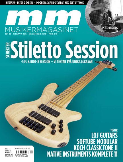 Musikermagasinet November 22, 2016 00:00