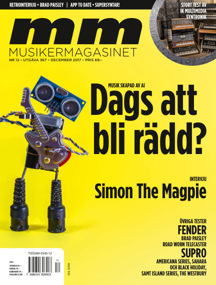Musikermagasinet November 21, 2017 00:00