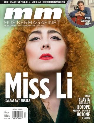 Musikermagasinet 2018-01-30
