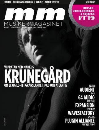 Musikermagasinet 2018-10-09