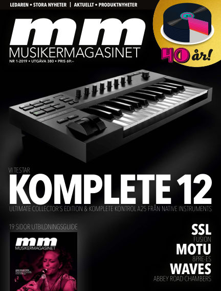 Musikermagasinet February 19, 2019 00:00