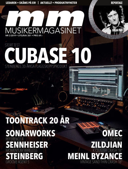 Musikermagasinet March 26, 2019 00:00