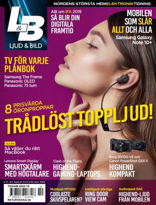 Ljud & Bild 2019-10-08