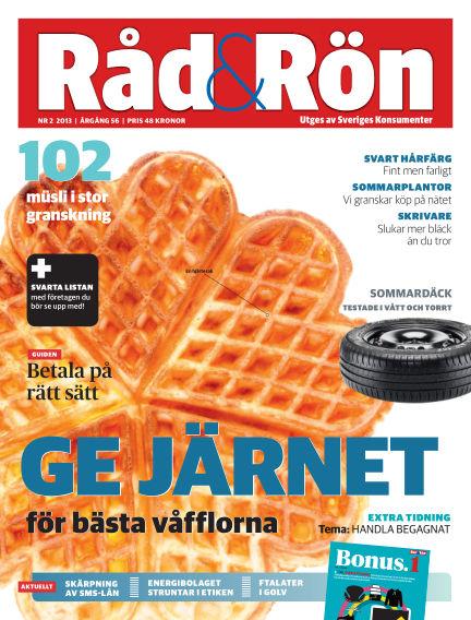 Råd & Rön February 22, 2013 00:00