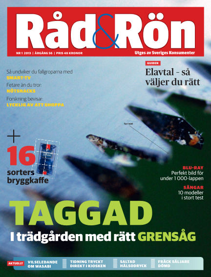 Råd & Rön January 25, 2013 00:00