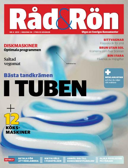 Råd & Rön April 30, 2013 00:00