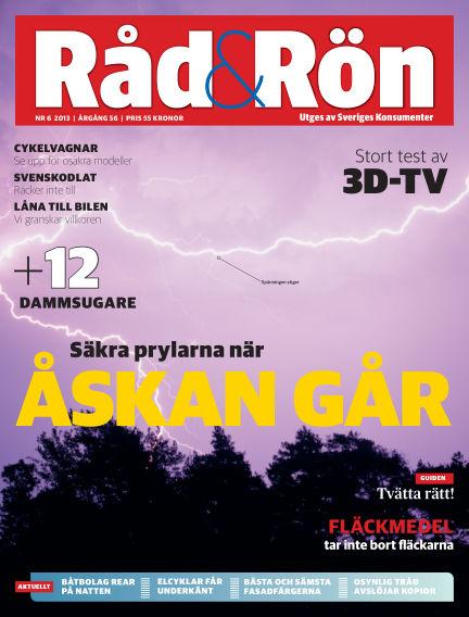 Råd & Rön July 02, 2013 00:00