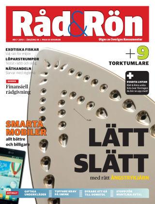 Råd & Rön 2013-09-02