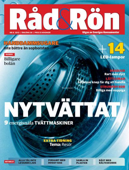 Råd & Rön September 30, 2013 00:00