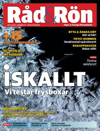 Råd & Rön 2013-12-03